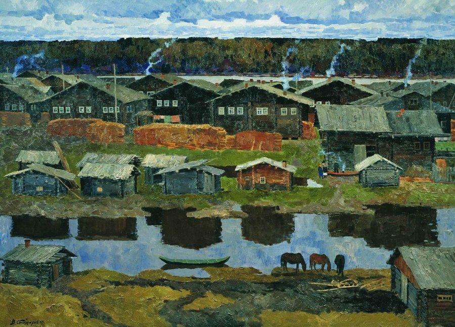 20世纪俄罗斯绘画杰作26