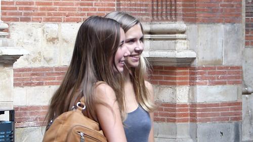 ragazze a Tolosa