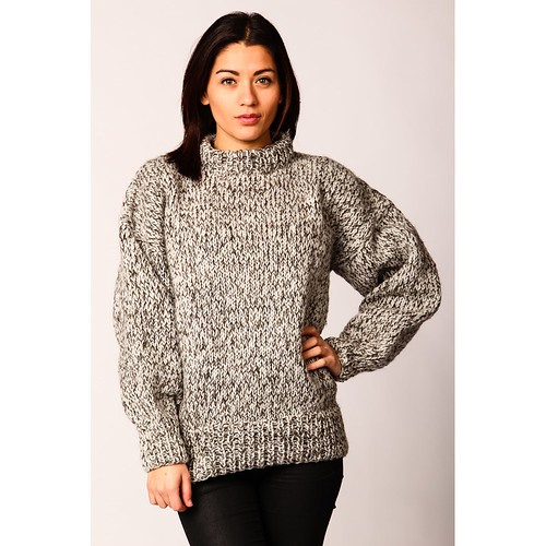Miinto womens fashion blended wool jumper