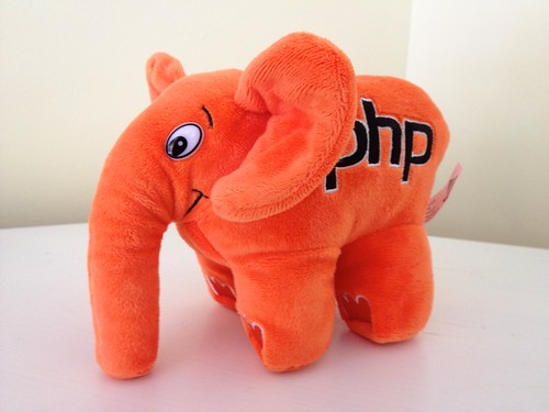 Orange elephpant! | by akrabat