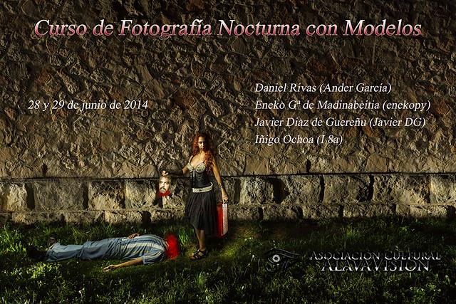 Cartel Fotografia Nocturna