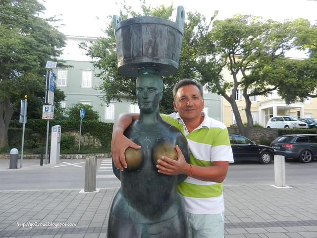Памятник города Крк
