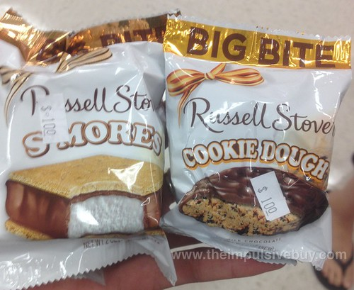 Russell Stover S'more and Cookie Dough Big Bite