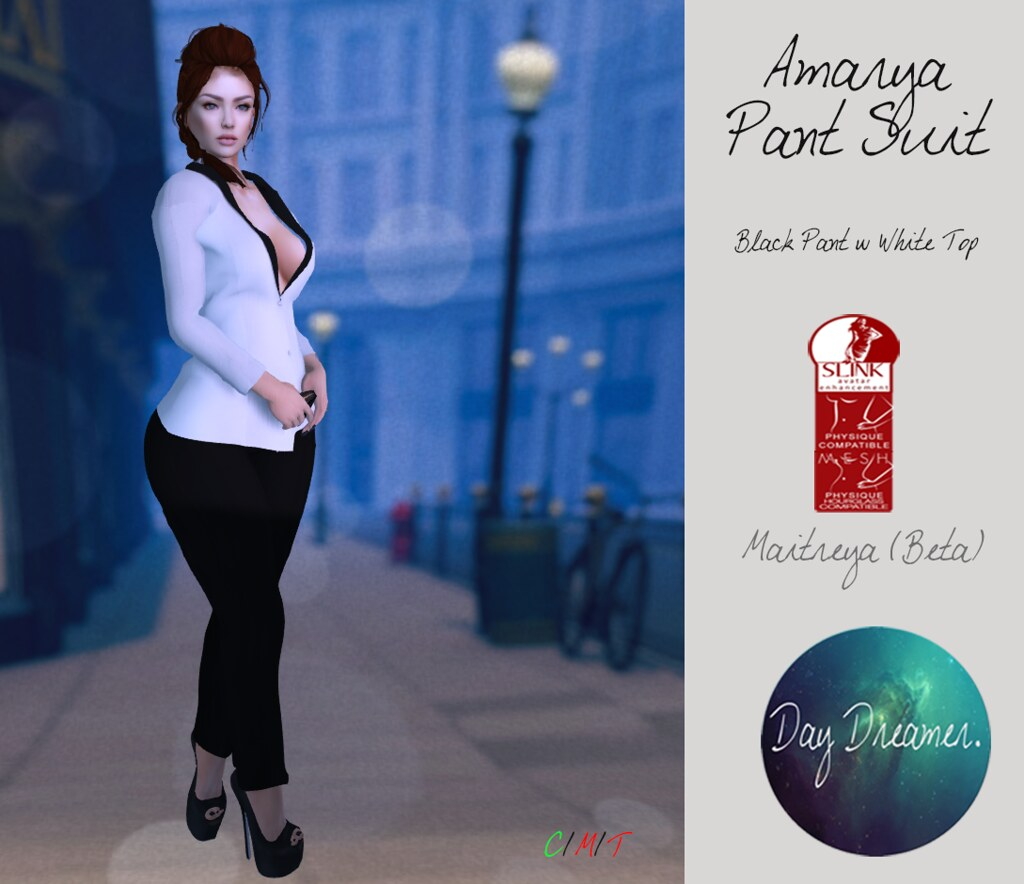 Day Dreamer - Amarya Pant Suits - SecondLifeHub.com