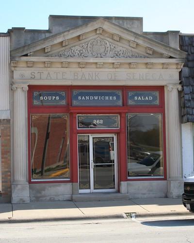 Former State Bank of Seneca, 262 North Main Street, Seneca Illinois