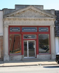 Former State Bank of Seneca, 262 North Main Street, Seneca Illinois