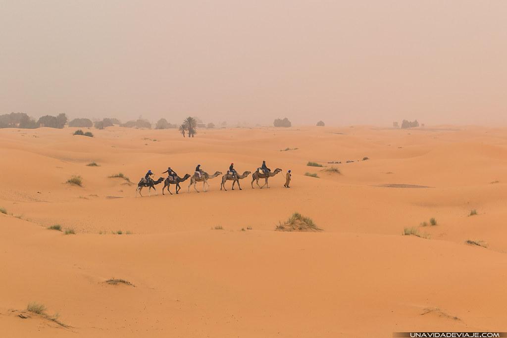 Marruecos sur Merzouga Erg Chebbi