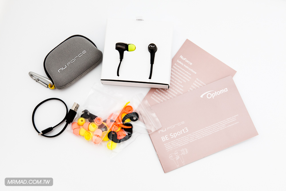 [開箱]時尚輕巧 BE Sport3 運動專用藍牙防水耳機