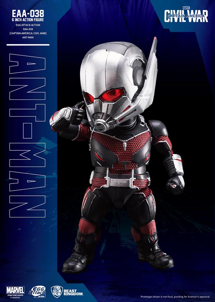 最迷你的超級英雄!Egg Attack Action EAA-038《美國隊長:英雄內戰》蟻人