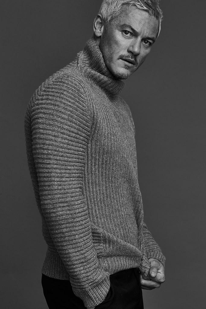 Люк Эванс — Фотосессия для «Mr.Porter» 2016 – 4