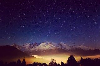Stars over Mont Blanc | by MRFotografie