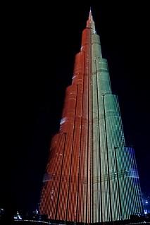 Image of Burj Khalifa. burjkhalifa tower dubai uae