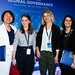 World Policy Conference posted a photo:WPC 2016, Doha, November 20-22 - Song-Nim Kwon, Executive Director of World Policy Conference ; Gwenaëlle Page ; Nina Dunand ; Sophie Carrere