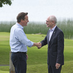 PM welcomes Herman Van Rompuy