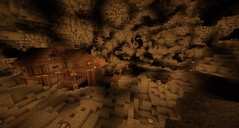Found this insane cavern on my server, I think this calls for an underground city! (Need help! - info in comments!)