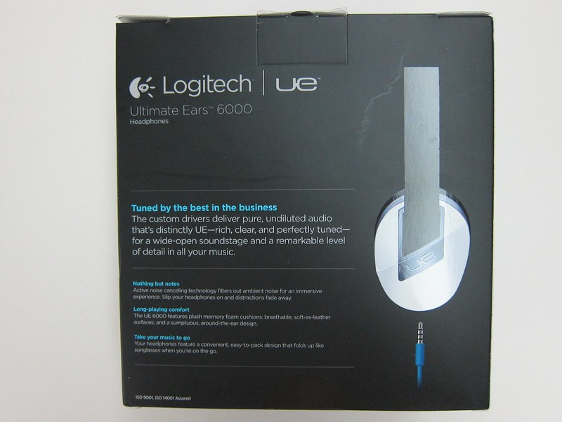 Logitech UE 6000 - Box Back
