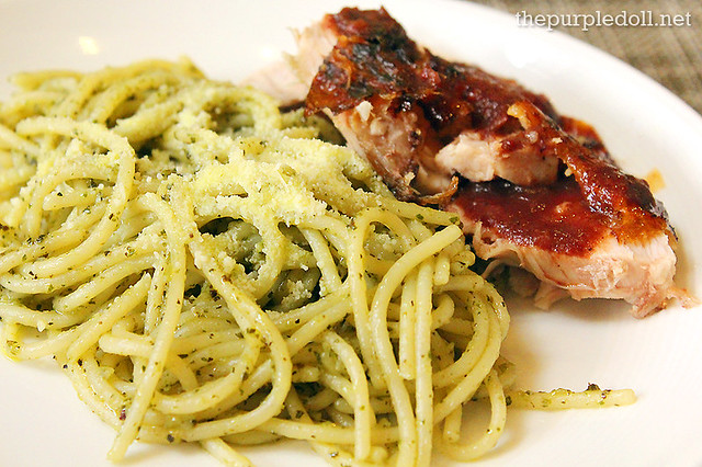 Pesto and Roasted Chicken at Spiral Sofitel Manila
