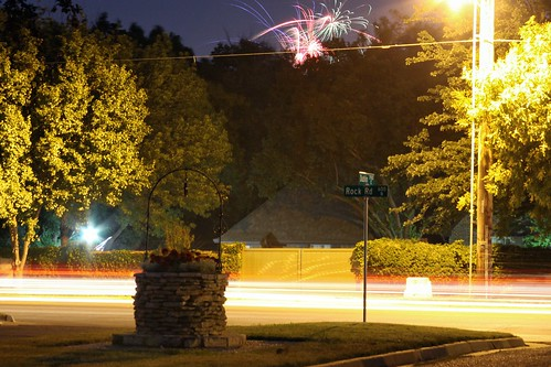 Fireworks on Rock Road by matthileo