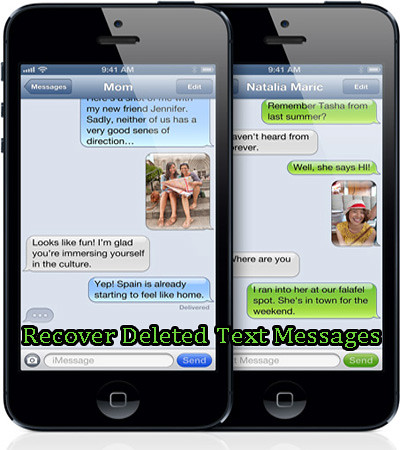 retrieve deleted text messages iphone
