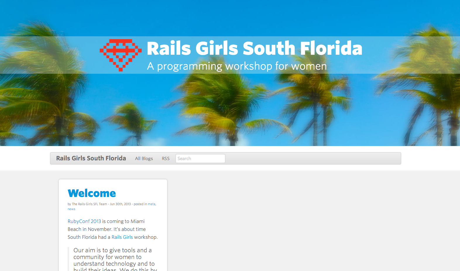 Rails Girls SFL website