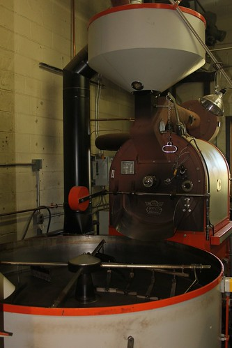 Small World Roaster's roasting machine
