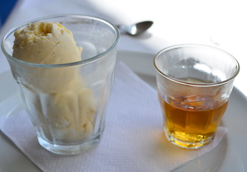 Affogato with Whiskey