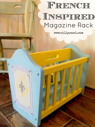 French-Inspired Magazine Rack - The Silly Pearl