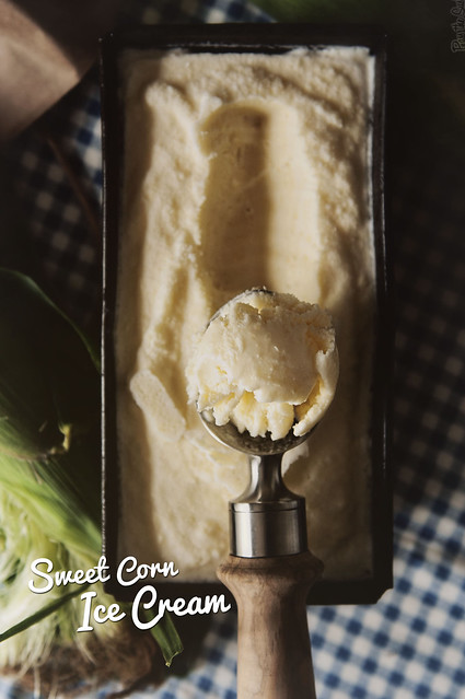 Sweet Corn Ice Cream from PasstheSushi.com