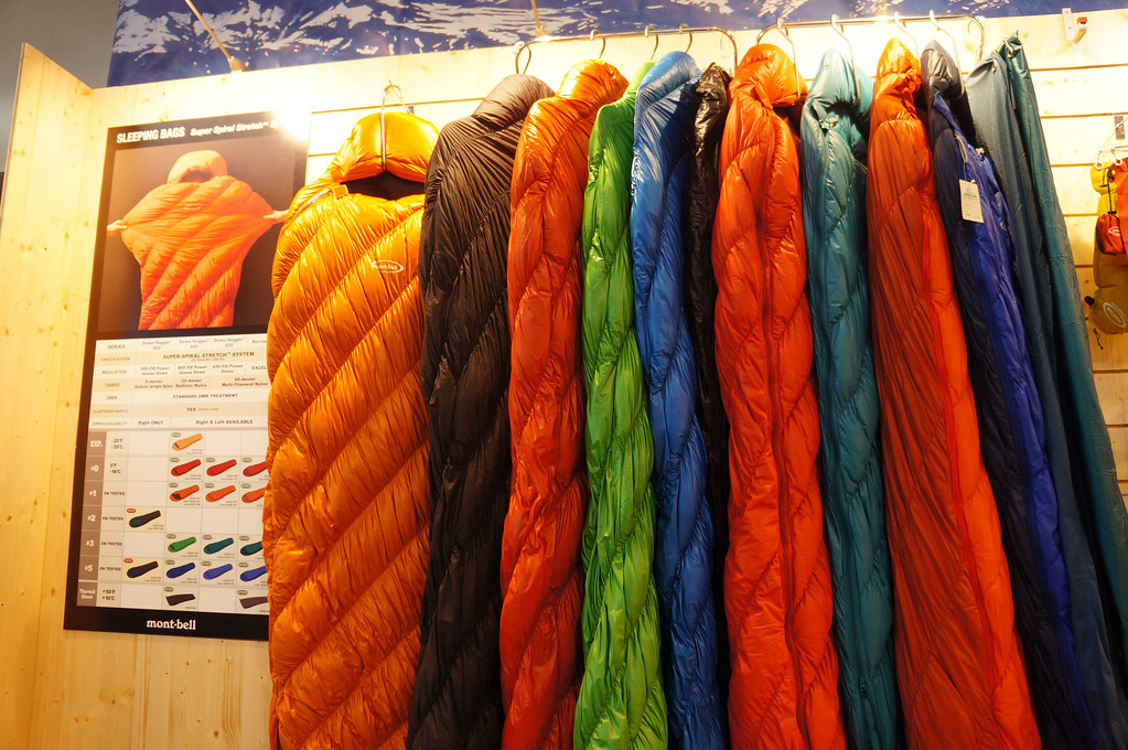 montbell sleeping bags