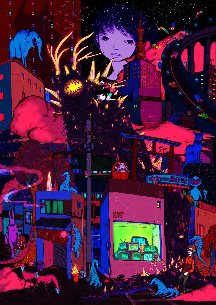 Uetsuji Shotaro - Night Crawler Love Stories