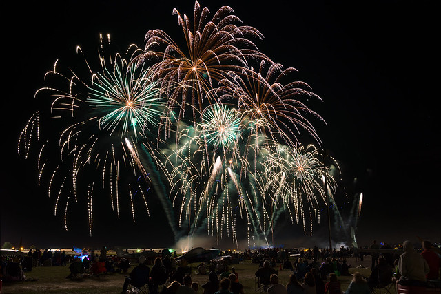 Fireworks, Airshow, Aircraft, EAA