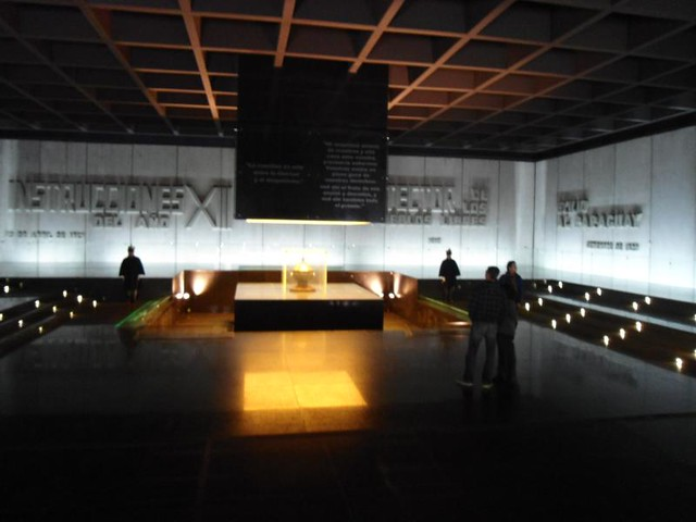 Interior del Memorial a Artigas