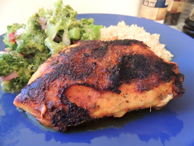 Blackened Chicken with Goya