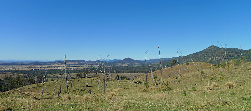 View into the Bremer Valley from the Little Liverpool Range