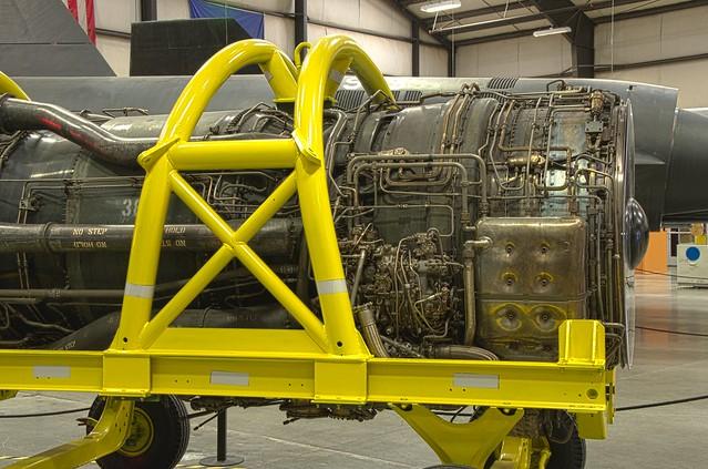 Pratt & Whitney J58 from a Blackbird