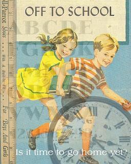 Vintage school days