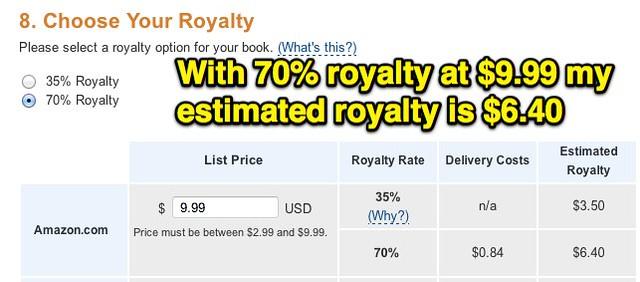 70% Royalty