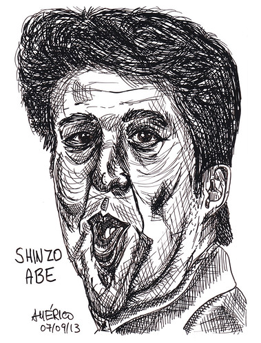 (60) Shinzo Abe, Prime Minister of Japan by americoneves