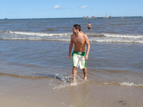 Nick (James Bond Style) on Sopot beach