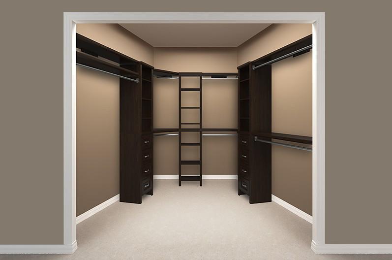 Impressions Walk In Chocolate Bedroom 2 Empty