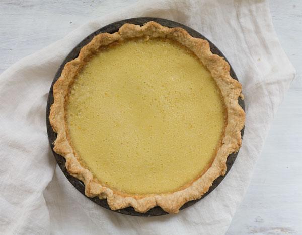 Chamomile Buttermilk Pie