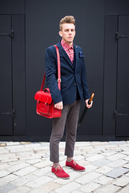 Street Style - Nathan, London Fashion Week