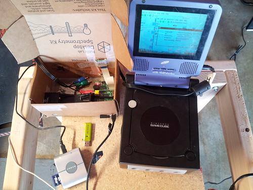 spectrometer pieces