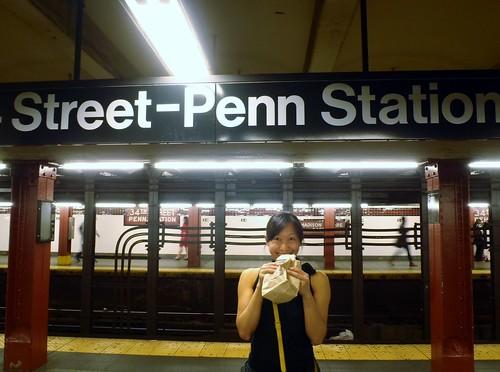 Black & White at 34th St-Penn Station