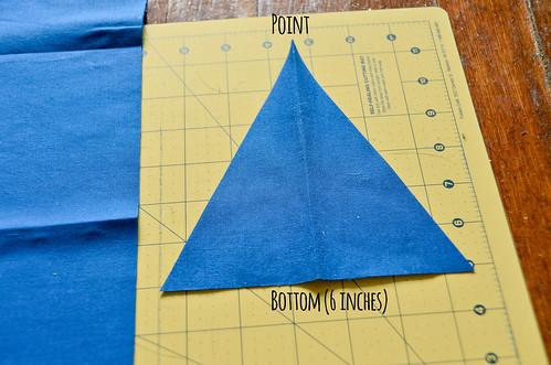 Step 10: Unfold Cut Fabric