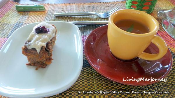 Squash Cake and Tarragon Tea
