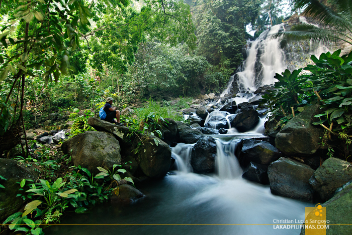 Mimbalot Falls in Iligan City