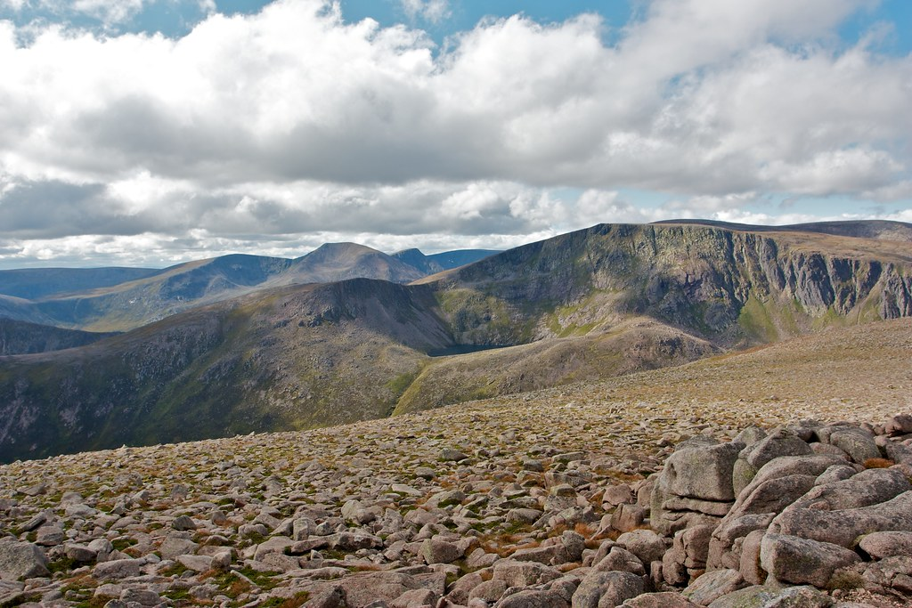 Cairn Toul and Ben Macdui