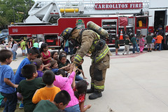 2013 Thompson Elementary Celebrates Fire Prevention Week by C-FB ISD