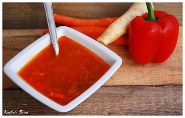 Zupa z soczewicy na ostro